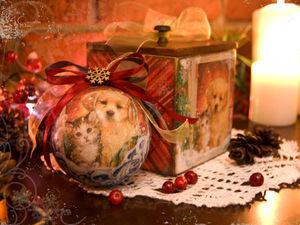 Новогодняя лавчонка толстого Юся!. Ярмарка Мастеров - ручная работа, handmade.