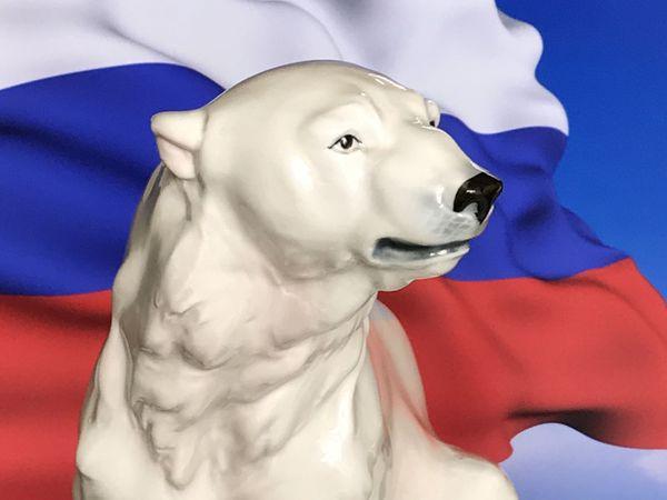 Раритетище Медведь большой фарфор Германия 19 | Ярмарка Мастеров - ручная работа, handmade