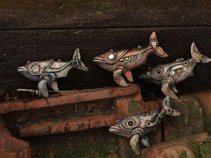 Кибернетические киты. | Ярмарка Мастеров - ручная работа, handmade
