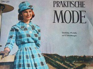Praktische Mode — старый немецкий журнал мод 10/1960. Ярмарка Мастеров - ручная работа, handmade.