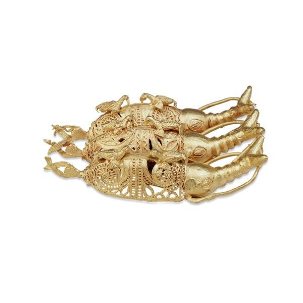 Gold Elephants  Asante, 19th century  The British Museum