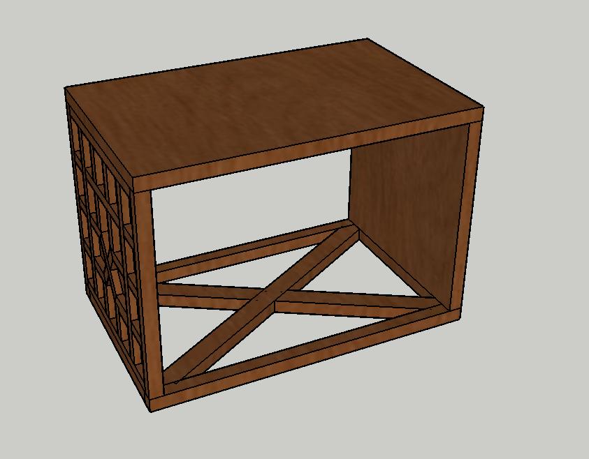 стол, стол из мореного дуба