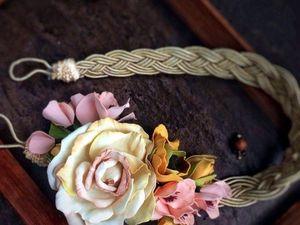 Варианты необычных украшений для штор. Ярмарка Мастеров - ручная работа, handmade.