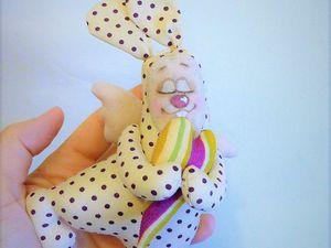 «Сердечный зайка» своими руками: мастер-класс | Ярмарка Мастеров - ручная работа, handmade