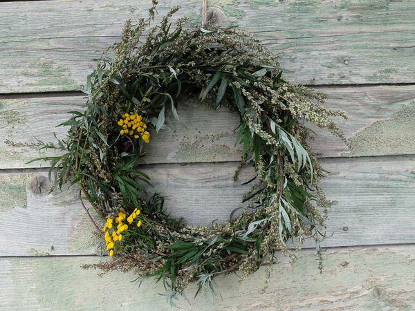 Венки и обережные травы   Ярмарка Мастеров - ручная работа, handmade