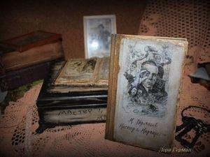 Дополнительные фото к коллекционной книге Мастер и Маргарита.. Ярмарка Мастеров - ручная работа, handmade.