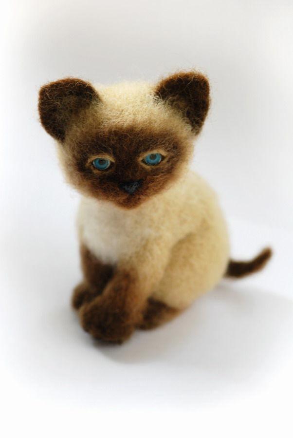 мастер-класс по валянию, игрушка из шерсти, обучение валянию, сухое валяние, валяние из шерсти, научиться валять, котенок, игрушка котёнок, котенок из шерсти, валяный котенок