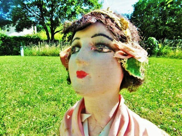 Французская будуарная кукла Colette эпохи Арт деко уже в магазине! | Ярмарка Мастеров - ручная работа, handmade