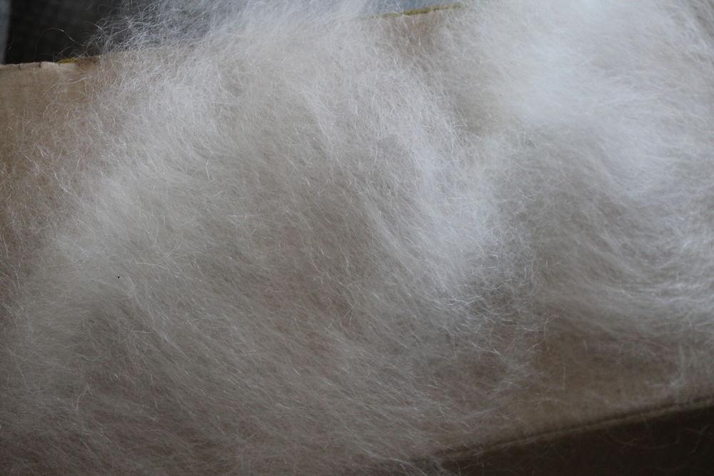 козий пух, оренбургский платок, вязание спицами, ручная работа