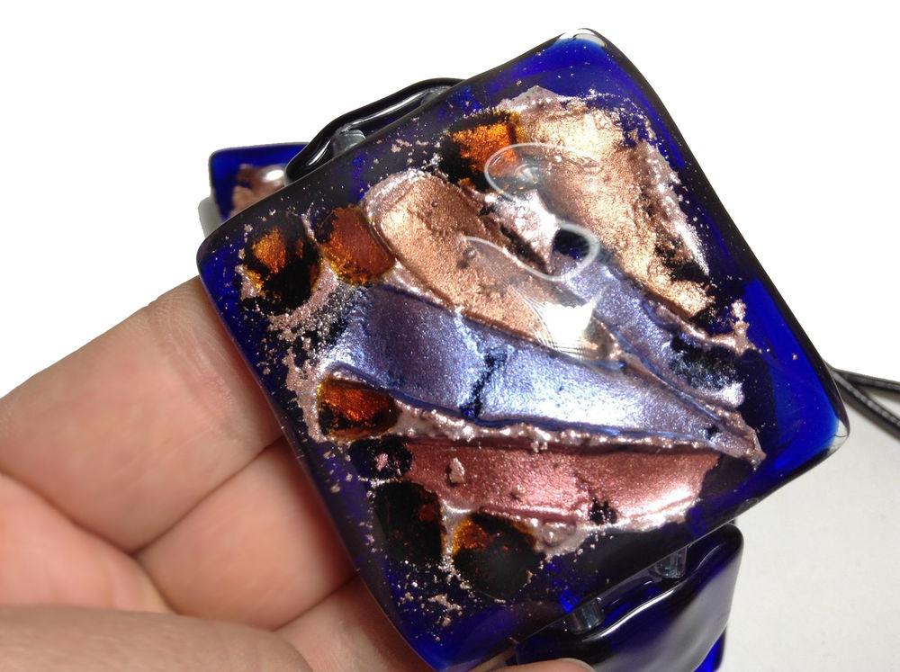варвара чеславская, авторское стекло, украшения бохо