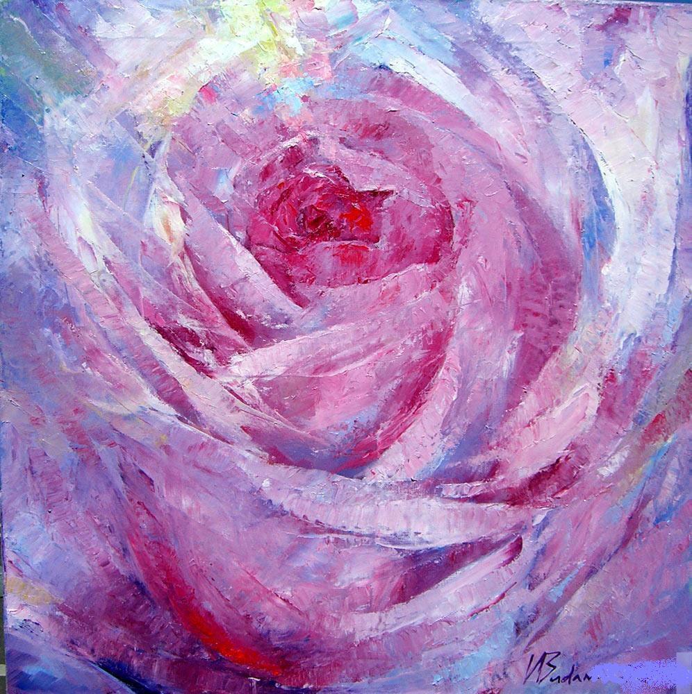 роза в живописи