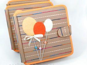"""Книжечка """"Оранжевое настроение"""". Ярмарка Мастеров - ручная работа, handmade."""