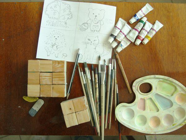 Делаем  с детьми игрушку для младших братьев и сестер. | Ярмарка Мастеров - ручная работа, handmade