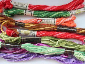 Вышивка нитками мулине на швейной машине: мастер-класс. Ярмарка Мастеров - ручная работа, handmade.