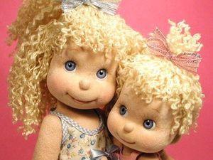 Коллекция милейших текстильных кукол — вдохновляемся!. Ярмарка Мастеров - ручная работа, handmade.