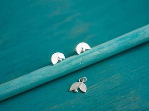 Серебряные козявочки. Ярмарка Мастеров - ручная работа, handmade.