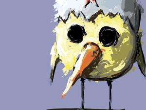 """День 59. Векторная графика """"Желтый генерал"""". Ярмарка Мастеров - ручная работа, handmade."""