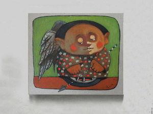 Лотерея в помощь художнику Гору (на его картину) + Копилочка (тема №3) | Ярмарка Мастеров - ручная работа, handmade
