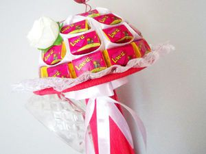 Видео мастер-класс: букет из жвачек «Love Is». Ярмарка Мастеров - ручная работа, handmade.