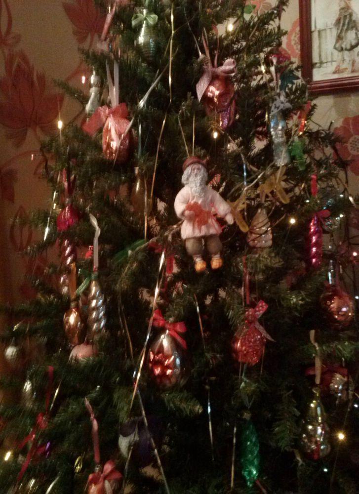 новогодние игрушки, елка