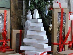 Необычная новогодняя елка — своими руками | Ярмарка Мастеров - ручная работа, handmade