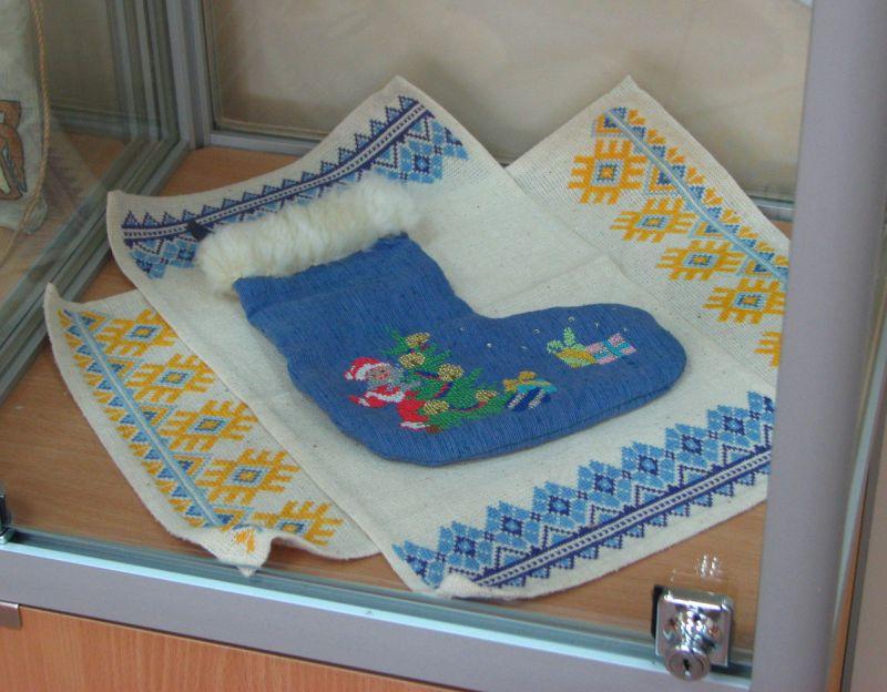 мешочек с вышивкой
