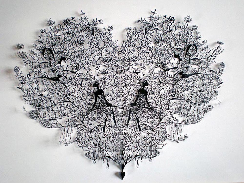 1 201 Бумажные кружева Хины Аоямы