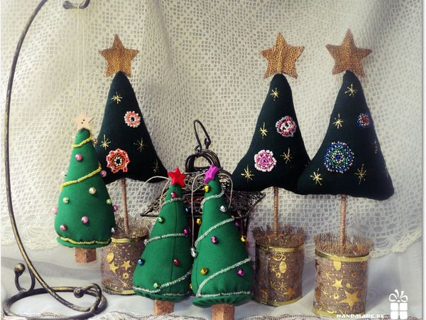 Ёлочка в подарок! | Ярмарка Мастеров - ручная работа, handmade