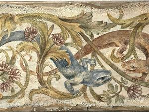 мастер-класс по имитации фрески. | Ярмарка Мастеров - ручная работа, handmade