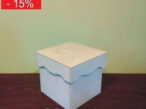 СКИДКА! — Короб для хранения №8 — заготовка для декупажа. Ярмарка Мастеров - ручная работа, handmade.