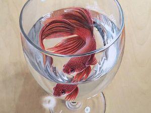 Потрясающие картины с рыбами сингапурского художника Ivan Hoo. Ярмарка Мастеров - ручная работа, handmade.