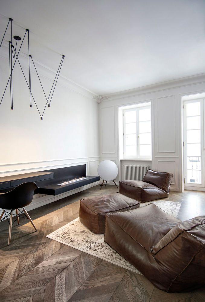 бескаркасная мебель, дизайнерские кресла, кресло, интерьер, дизайн-проект, пуфик, натуральная кожа