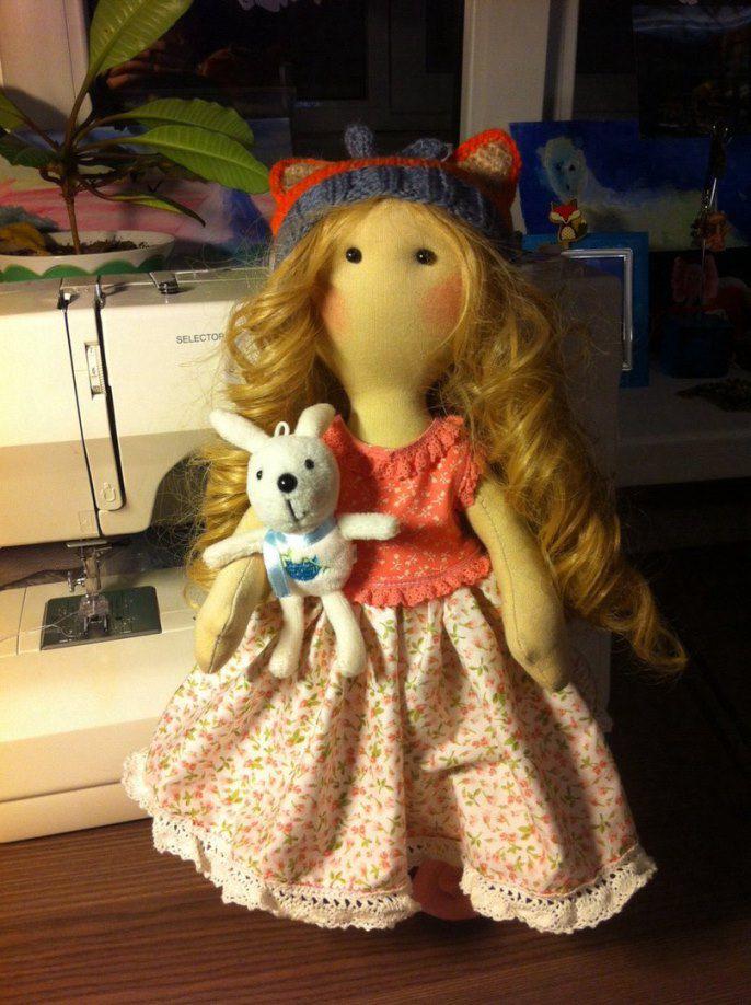 шьем куклу, рукоделие