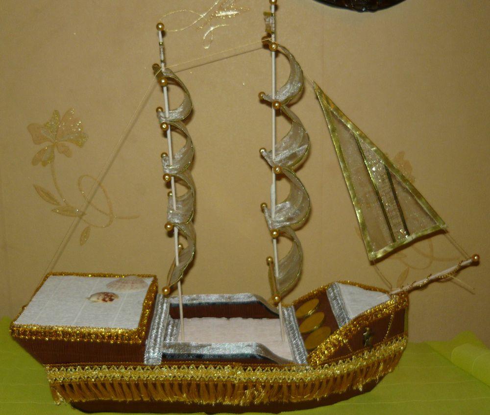 корабль, шоколад