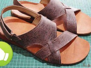 Создаем из старых сандалий новые: видео мастер-класс. Ярмарка Мастеров - ручная работа, handmade.