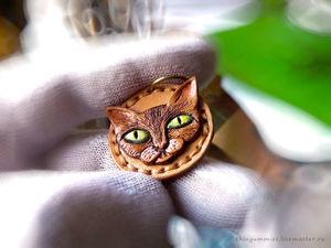 Кот с Зелёными Глазами. Ярмарка Мастеров - ручная работа, handmade.