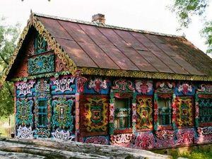 Восхитительная красота деревенских домов. Ярмарка Мастеров - ручная работа, handmade.