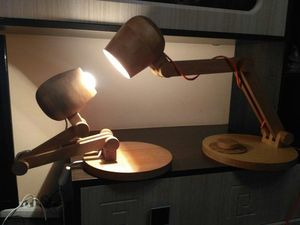 Мастерим настольную лампу из дерева. Ярмарка Мастеров - ручная работа, handmade.