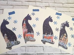 Четвёртый розыгрыш открыток Cat-Card /закрыт/. Ярмарка Мастеров - ручная работа, handmade.