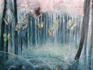 Розовый лес на Главной!. Ярмарка Мастеров - ручная работа, handmade.