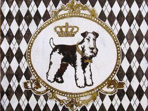 Собаки картинки для декупажа. Ярмарка Мастеров - ручная работа, handmade.