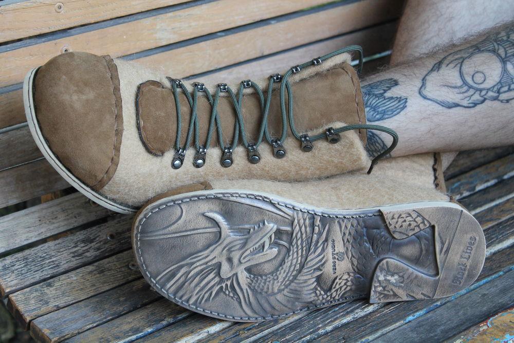 валяная обувь, войлочная обувь