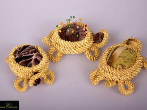 Игольницы из соломки в виде разных животных. Ярмарка Мастеров - ручная работа, handmade.