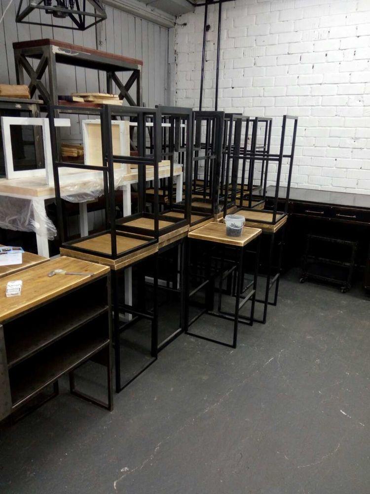 индустриальный, мебель от производителя