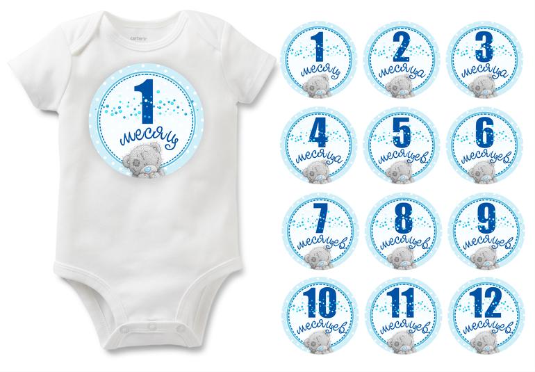 Стихи, картинки для новорожденных по месяцам