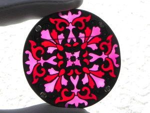 Видео. Брошь Арабески,Catherine Popesco,Франция. Ярмарка Мастеров - ручная работа, handmade.