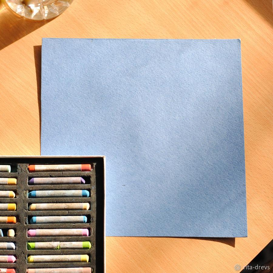 Рисуем пастелью изящный цветок каллы, фото № 1