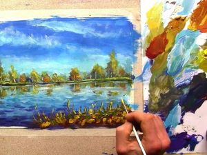 Вебинар Мастер-класс по классической живописи пейзажа. Ярмарка Мастеров - ручная работа, handmade.