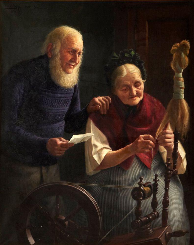 Когда есть чем заняться — стареть некогда: душевные картины о бабушках-рукодельницах, фото № 66