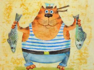 Рыбалка удалась. Ярмарка Мастеров - ручная работа, handmade.